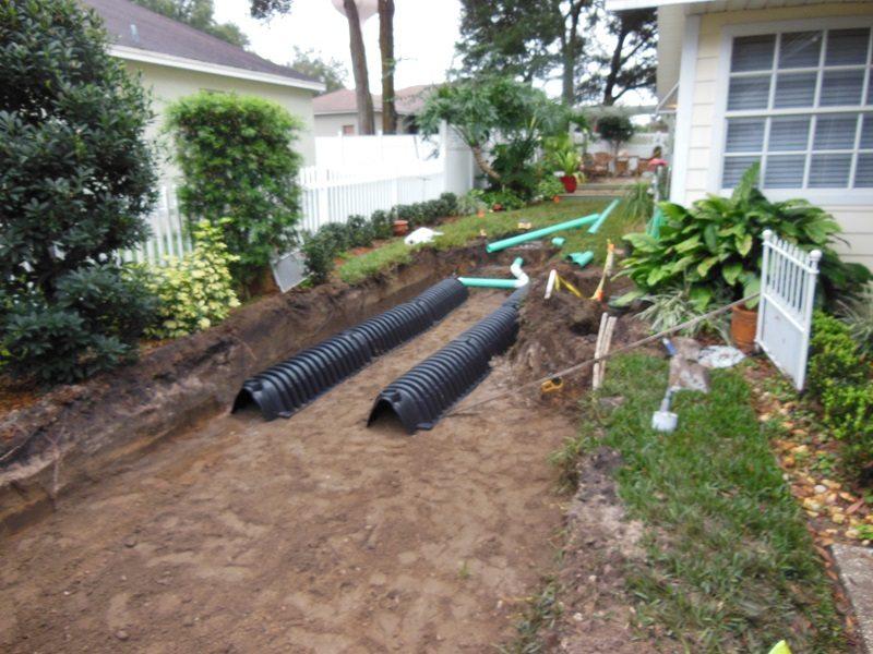 Drain Field Installation Gallery Averett Septic Tank Co