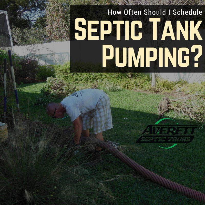 How Often Should I Schedule Septic Tank Pumping? | Averett ...