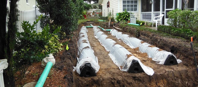 Drain Field Installation in Lakeland, Florida