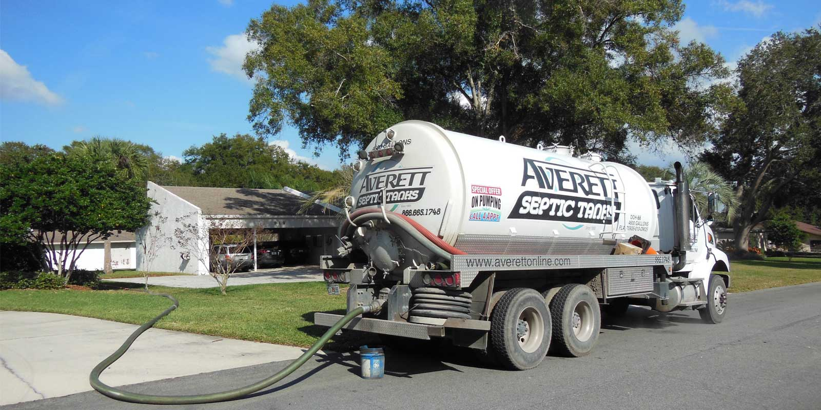 Residential Septic Cleaning in Plant City, Florida